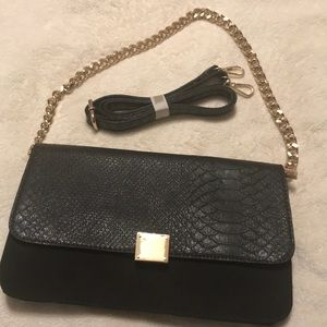 New from Shoedazzle Clutch Shoulder Bag